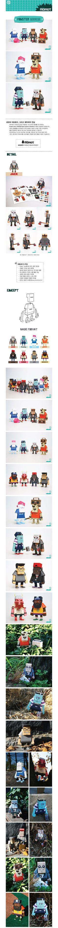momot monster seriese