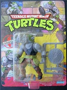TMNT Playmates toy: Rocksteady
