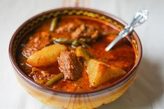 Mole de Olla ~ Spicy Stew from the Pot (Mexican Beef Stew)