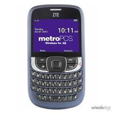 This is the phone that I actually own! This is the ZTE Aspect!