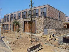 Paneles de piedra natural STONEPANEL® para el nuevo centro educativo de Clisson   #piedra #pierre #stone #deco #design #architecture