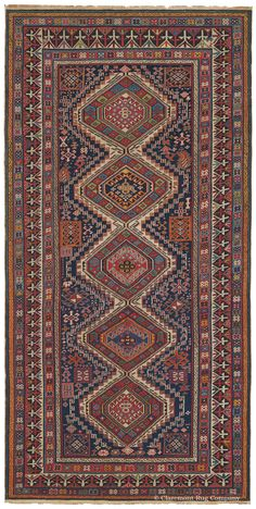 SYMBOLISM AND TRIBAL COSMOLOGY IN ANTIQUE CAUCASIAN RUGS, PART IV, AN IMPRESSION OF UNIVERSAL BALANCE AND HARMONY Click to read this article by Claremont Rug Company's Founder and President, Jan David Winitz.