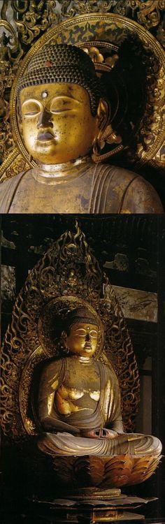京都 東光山法界寺 阿弥陀如来坐像