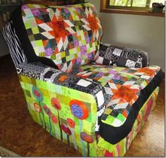 Image result for quilt chair