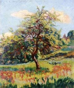 Orchards in Flower at Miregaudon - Armand Guillaumin - The Athenaeum