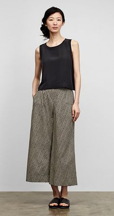 Our Favorite Spring Looks & Styles for Women   EILEEN FISHER. Simple and clean styling for summer.