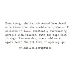 """Blossom in hope"" 