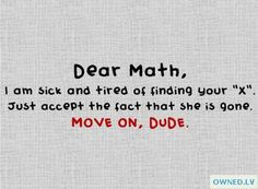 Letter to Math Giggle
