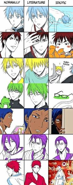 Kuroko no Basuke WTF is going on in that last panel