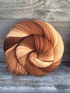 Hand Dyed Yarn Gradient Yarn Fingering Weight by WendysWonders127
