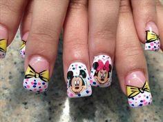 20 Diseños de Uñas de Minnie y Micky Mouse - ε Diseños de Uñas Decoradas з