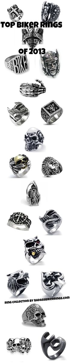 Top Biker Rings of 2013 - Badass Biker Rings