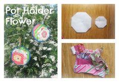 Pot Holder Flower Pot Holders, Christmas Crafts, Flowers, Blog, Potholders, Royal Icing Flowers, Floral, Florals, Flower