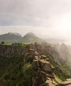 Walking through Ethiopia