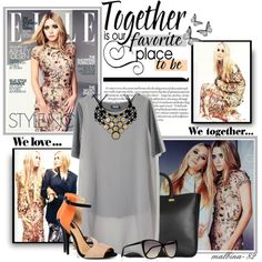 """""""Mary-Cate and Ashley Olsen"""" by malbina-82 on Polyvore"""