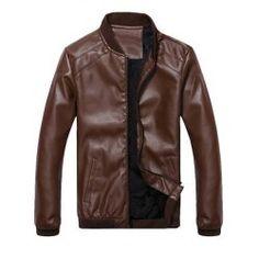 Leather Jacket For Men Fashion Shop Online | Twinkledeals.com