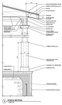 Construction Documents Porch Section