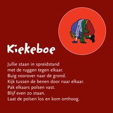 Yoga: kiekeboe