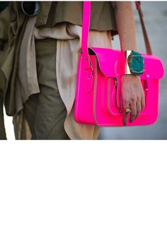 Now, THAT is a pink bag