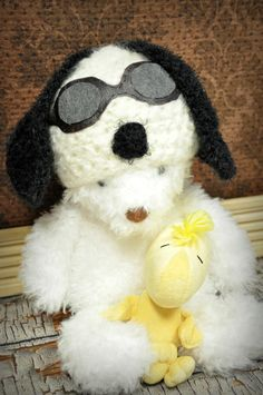 Snoopy Hat with Pilot Goggles by JLloPhotographyProps on Etsy, $34.99