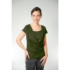 MamaWear Nursing Apparel - Breastfeeding Clothes for Nursing Moms Nursing Wear, Nursing Tops, Breastfeeding Clothes, Nursing Clothes, Rainbow Baby, Cowl Neck, Maternity, Stylish, Countries
