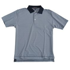 Competition Stripe Summer Comfort Stretch Jersey with Knit Collar -  Performance   E4 - Golf Shirts d79b21f29c