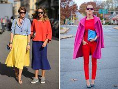 Уроки цвета в Школе Шопинга! Как научиться сочетать яркие цвета и оттенки в гардеробе!