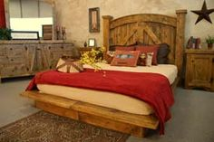 Home Interior, Rustic Furniture – The Classic Interior Design in Modern Days: Bed Design With Rustic Furniture Log Bedroom Furniture, Home Bedroom, Rustic Furniture, Home Furniture, Bedroom Decor, Furniture Ideas, Western Furniture, Bedroom Ideas, Furniture Dolly