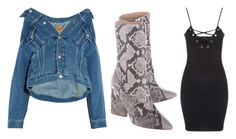 Designer Clothes, Shoes & Bags for Women Yeezy By Kanye West, Jane Norman, Balenciaga, Vest, English, Denim, Shoe Bag, Polyvore, Jackets