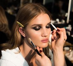 """Pat McGrath on Instagram: """"Finishing touches on the #DIVINE @rosiehw before…"""