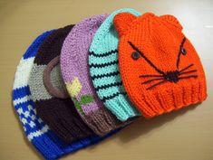 GORROS em tricot - 1 ano a adulto Descomplique a confecção de gorros em tricot, em qualquer tamanho desde 1 ano a adulto, sem costuras, através deste nosso vídeo tutorial.