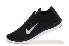 san francisco cb1f3 524fa Fashion Nike Free Flyknit Men Black White Running Shoes Online have been  ahead of other shoes products in the sales and market demand. The core of the  Nike ...