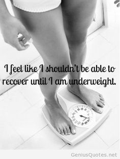 Life with an eating disorder