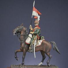 Cavalerie de ligne : Chevau-léger lancier 6ème rgt. 1811 cie. d'élite