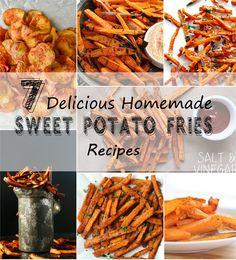 sweet potato fries recipes