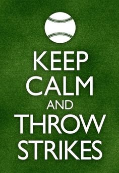 Keep Calm and Throw Strikes Baseball Poster Prints at AllPosters.com