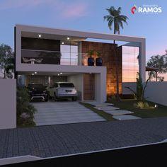 Residencia por Alessandro Ramos Arquitetura #residencia #fachada #ms #arquitetura