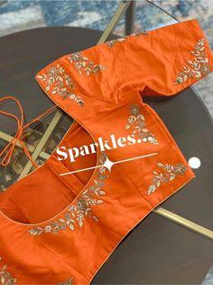 Pattu Saree Blouse Designs, Blouse Designs Silk, Designer Blouse Patterns, Bridal Blouse Designs, Simple Blouse Designs, Stylish Blouse Design, Mirror Work Blouse Design, Maggam Work Designs, Sarees