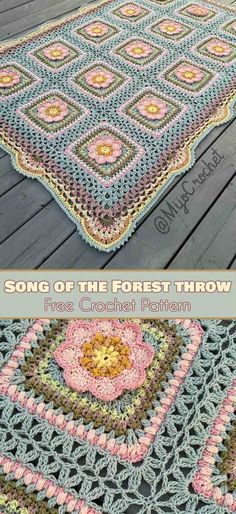 Song of the Forrest Throw Free Pattern | Your Crochet | Bloglovin'