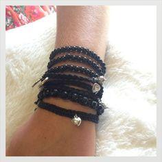 All Black Bracelets