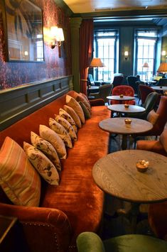 Image result for couches facing each other lounge seating restaurant