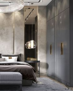 Awesome Luxury Modern Master Bedroom Design will Inspire You - home decor update Luxury Bedroom Design, Master Bedroom Interior, Modern Master Bedroom, Master Bedroom Design, Best Interior Design, Luxury Home Decor, Luxury Interior, Interior Design Living Room, Bedroom Decor