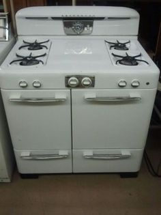 Vintage oven/stove.