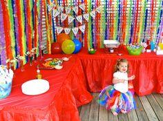 Rainbow party: Emma is 2! | Chickabug