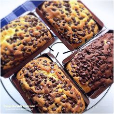 Cuisine Paradise | Singapore Food Blog | Recipes, Reviews And Travel: Orange Chocolate Pound Cake Loaded With Dark Chocolate Chips