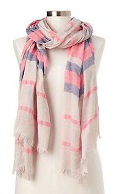 soft stripe scarf  http://rstyle.me/~2wwV2