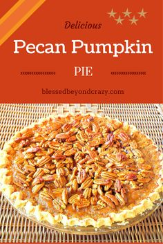 Pecan-Pumpkin Pie is a wonderful combination of flavors that will make your home smell just like fall. Since fall is right around the corner I have started thinking about all things fall related. Pumpkin pie is high on my favorite pies list and Sugar and Spice Pecans is high on my favorite snacks list. What …