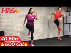 (1) 40 Minute Tabata Cardio HIIT Workout No Equipment Full Body at Home Interval Training for Fat Loss - YouTube