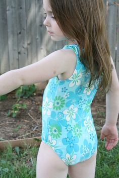 Swimsuit Tutorial-- great for leotards too