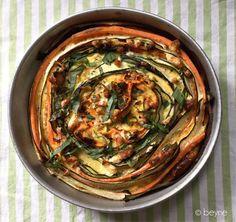Courgette-worteltaart